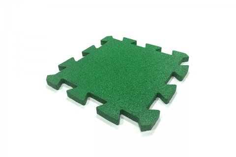 Резиновая плитка-пазл, 40 мм