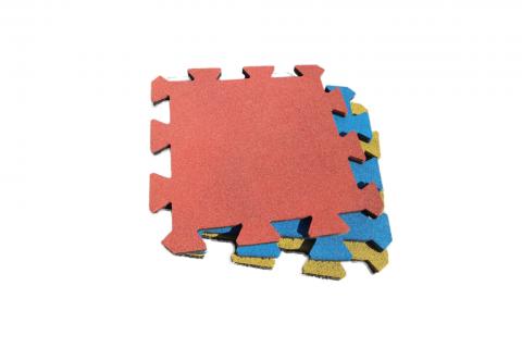 Резиновая плитка-пазл, 20 мм