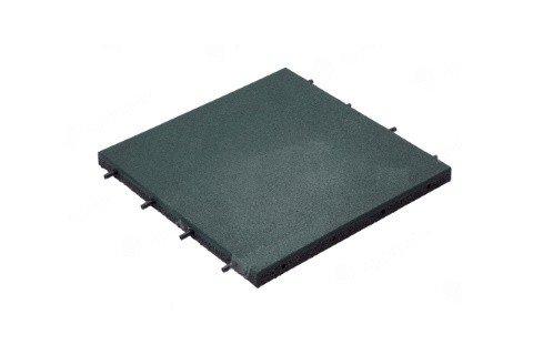 Резиновая плитка с втулками